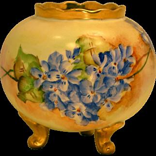 Antique Bavaria Hand Painted Porcelain Vase