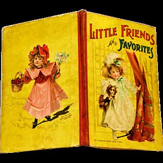 Antique Children's Victorian 1899 Nursery Rhyme Book