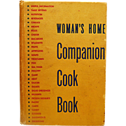 Vintage Woman's Home Companion Cook Book 1945 HIghly Collectible