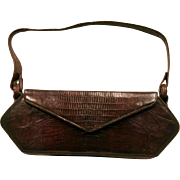 Vintage Alligator Handbag Purse Excellent Vintage Fashion