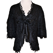 Victorian Lace Ribbon Jacket Very Wearable