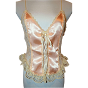 Vintage Lingerie Top Frederick's Of Hollywood