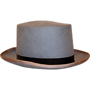 Vintage Modified Wool Men's Top Hat