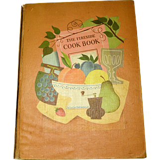 Vintage 1949 Fireside Cookbook A Classic Collectible First Edition James Beard