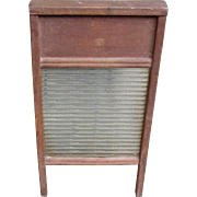 Rustic Vintage National Washboard Co. Model Atlantic