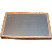 Antique Slate Blackboard Framed 2 Sided!