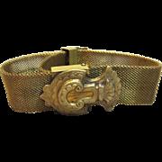 Victorian Mesh Tassel Bracelet Circa 1890's
