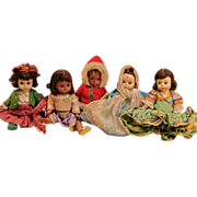 Adorable Vintage Madame Alexander International Dolls