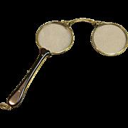 Antique Lorgnette Glasses