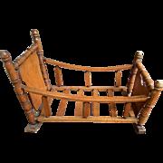 Vintage Heirloom Baby Doll Cradle