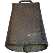 Vintage Cast Iron Cow Bell