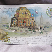 1901 Official Souvenir Postcard
