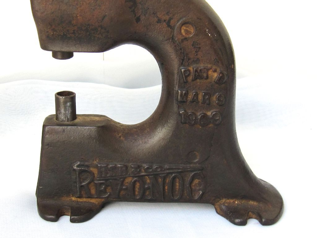 Vintage Rivet Tool : Antique rivet leather punch tool circa sold on ruby lane