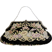 Amazing Vintage Needlepoint Purse