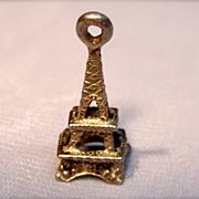 Vintage 3D Eiffel Tower Silver
