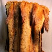 Vintage Zierz L.S. Ayres Mink Fur Stole/Wrap