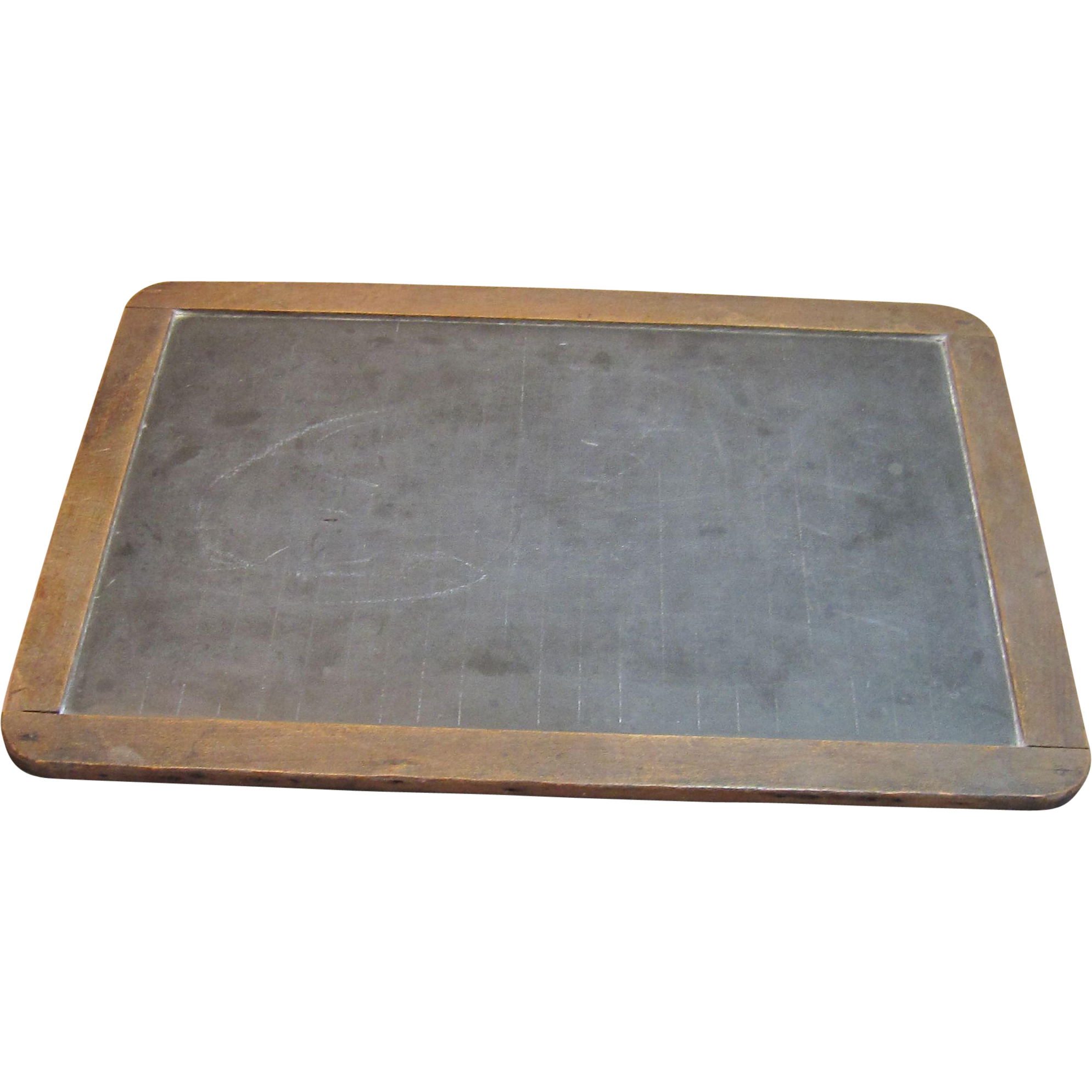 writing slate Slate writing description: 7-1/2 x 10-1/2 single, wood frame slate showing daisies in white in the upper left corner and a message signed thomas j o'neilthis slate.
