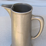 Large Wilton Armetale Pitcher Circa 1963