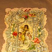 Antique Valentine Victorian Card