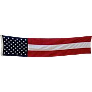 Dramatic & Patriotic 50 Star Pull Down Flag by Everwear