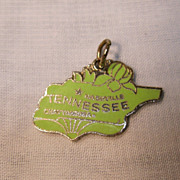 Tennessee Enameled State Charm