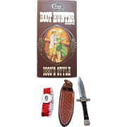Boot Hunter 1880's Style Knife by CASE