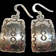 Fabulous Dangle Earrings by Navajo Dean Brown