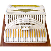 Vintage High Quality Titano Accordion Standard Model Circa 1947, Made in Italy
