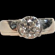 Elegant 1.19 ct. Solitaire Engagement Ring in Platinum
