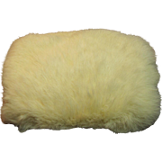 Vintage Rabbit Fur Muff