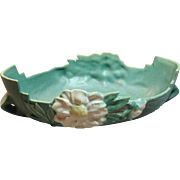 Vintage Roseville Art Pottery Peony Console Bowl Number 438