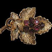 Matchless Vintage Grape Pin