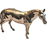 Vintage Rare Horse Sculpture by Camel Cigarettes Made in Occupied Japan