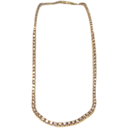 Magnificent 5 CTTW Graduated Diamond Tennis Necklace in 14K White Gold
