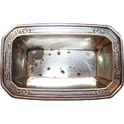 Art Deco Tiffany & Co. Nut Dish In Sterling Silver Circa 1930's
