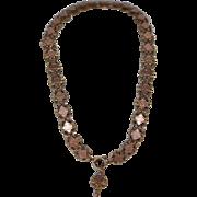 "Victorian Book Chain Necklace 16""x9/16"""