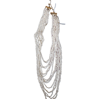 CLEARANCE: White Coral Necklace