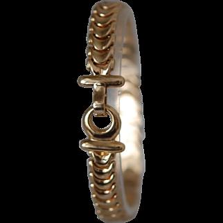 Vintage 14K Bracelet Easy Close Clasp 11.8gm