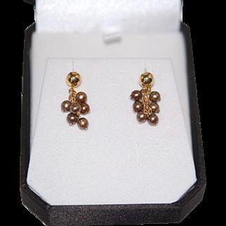 "Vintage 1"" Dangle Earrings"