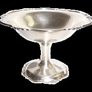 ****ON HOLD*** Antique 1904 Deakin Francis Birmingham English Sterling Silver UNWEIGHTED Server 93.8gr Bon Bon Pedestal Candy Nut  Serving Dish