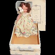 1940s NASB Nancy Ann Storybook Doll w Box 113 Papers