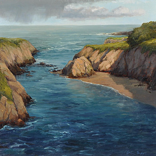 Beautiful California Coastal Scene by Kathleen Dunphy