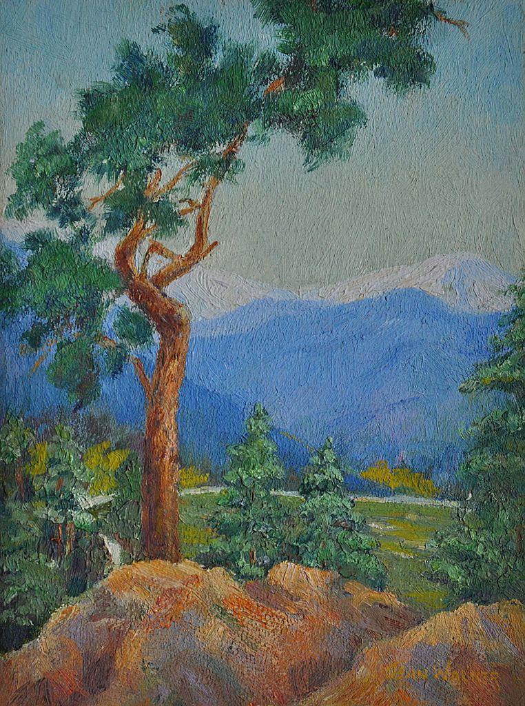 Nice Plein Air Landscape by Jean Walker