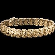 17.6 Grams 14K YG Fancy Link Bracelet
