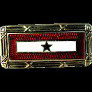 14K YG WWII Son in Service / Sweetheart Pin