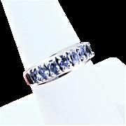 10k WG Tanzanite Ring Size 8
