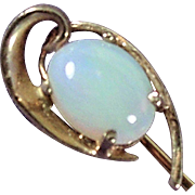 14K YG Opal Stick Pin