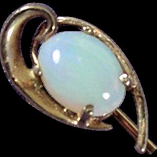 14K YG Opal Stick Pin