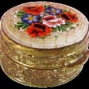 Micro Mosaic Pill Box