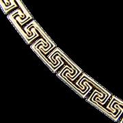 14K YG Greek Key Style Bracelet